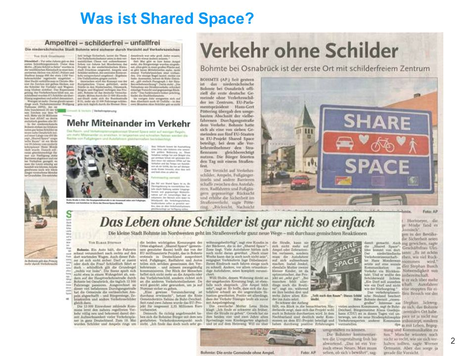Was ist Shared Space