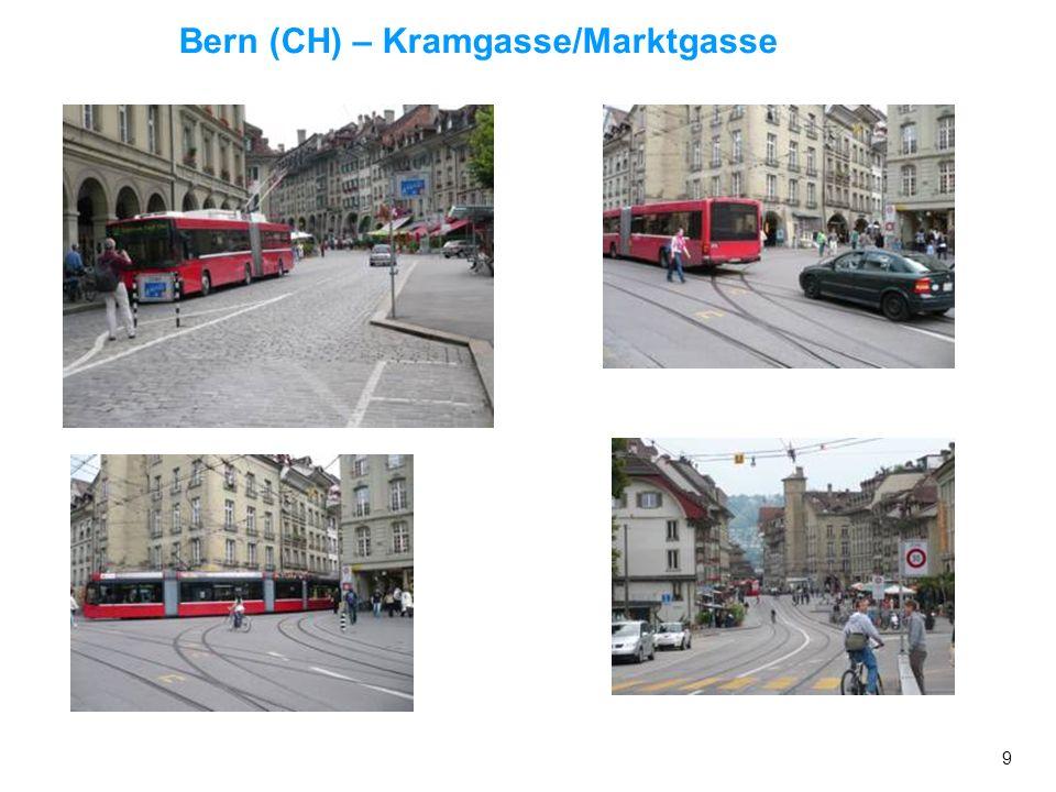 Bern (CH) – Kramgasse/Marktgasse