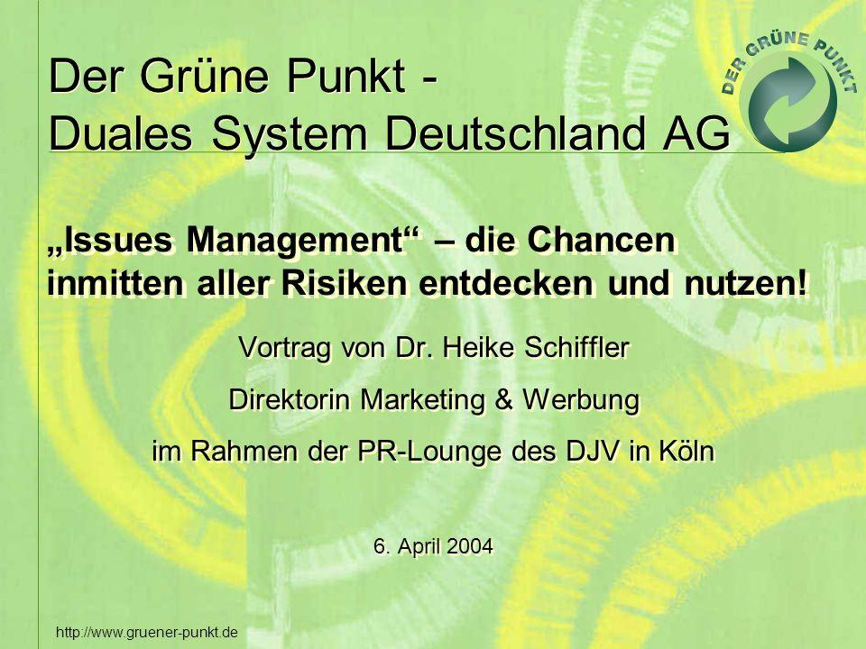 """""""Issues Management – die Chancen inmitten aller Risiken entdecken und nutzen!"""