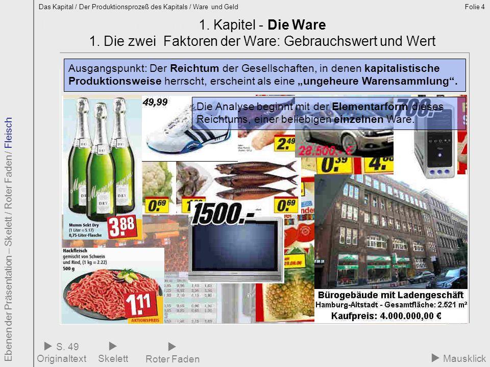 1.1 Ware – Elementarform des Reichtums