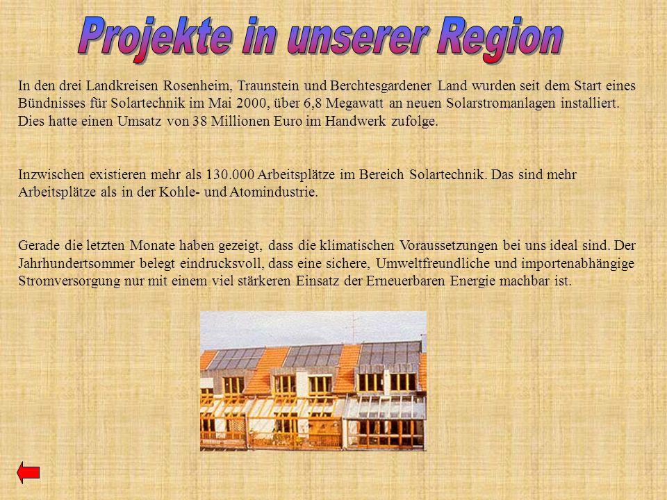 Projekte in unserer Region