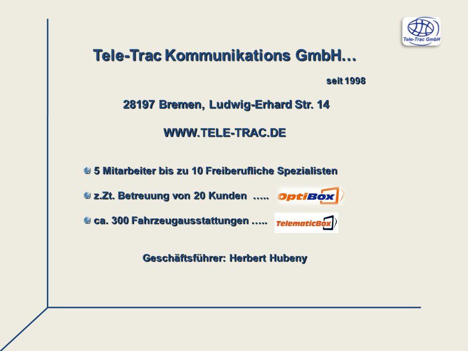 Tele-Trac Kommunikations GmbH…