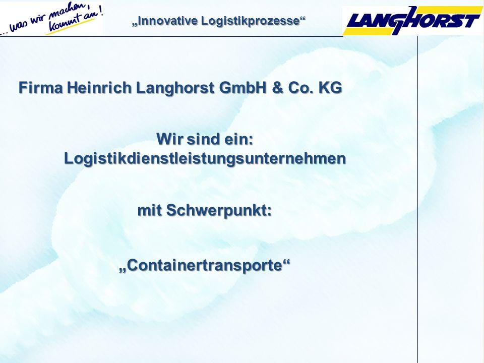 Firma Heinrich Langhorst GmbH & Co. KG