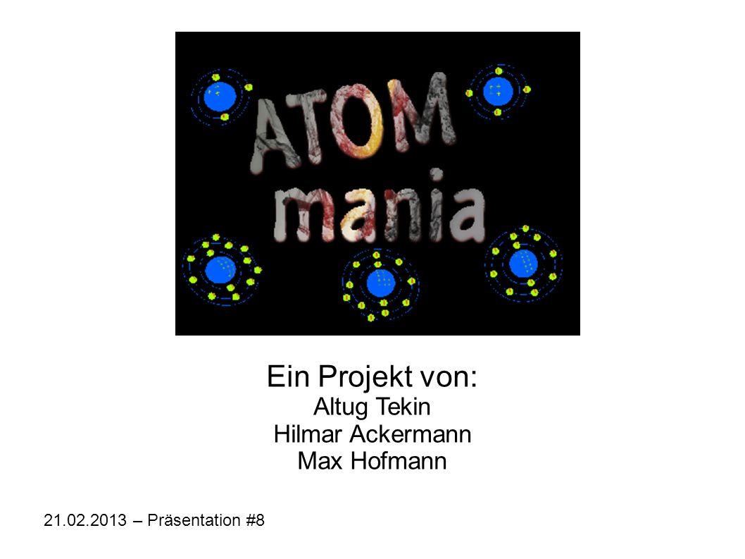 Ein Projekt von: Altug Tekin Hilmar Ackermann Max Hofmann