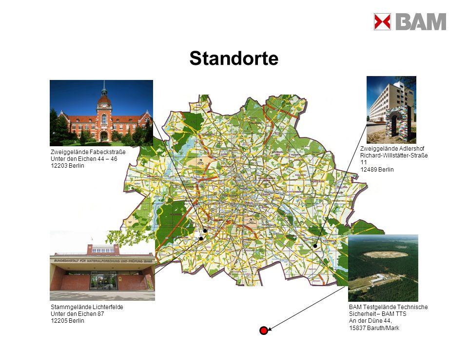 Standorte Zweiggelände Adlershof Richard-Willstätter-Straße 11