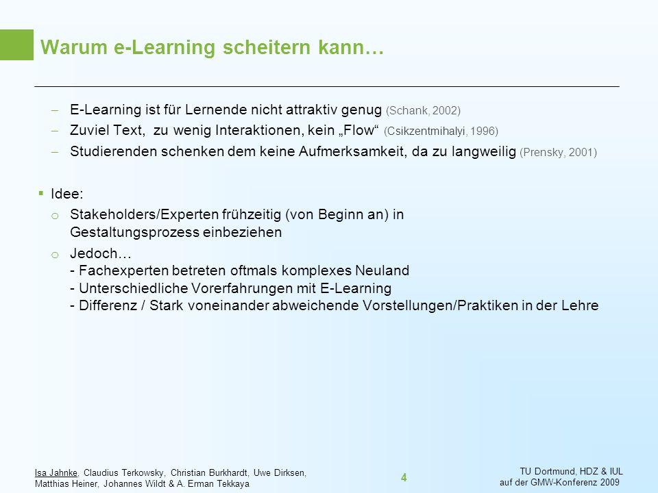Warum e-Learning scheitern kann…