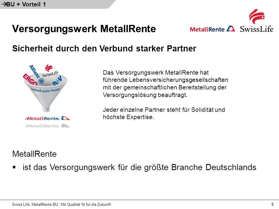 Versorgungswerk MetallRente
