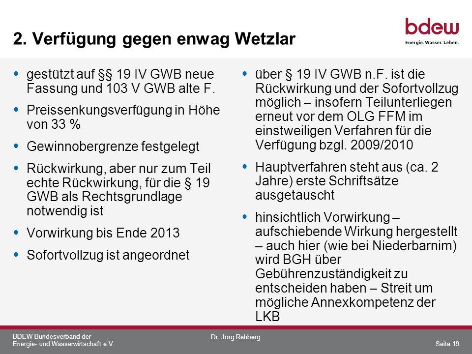 2. Verfügung gegen enwag Wetzlar