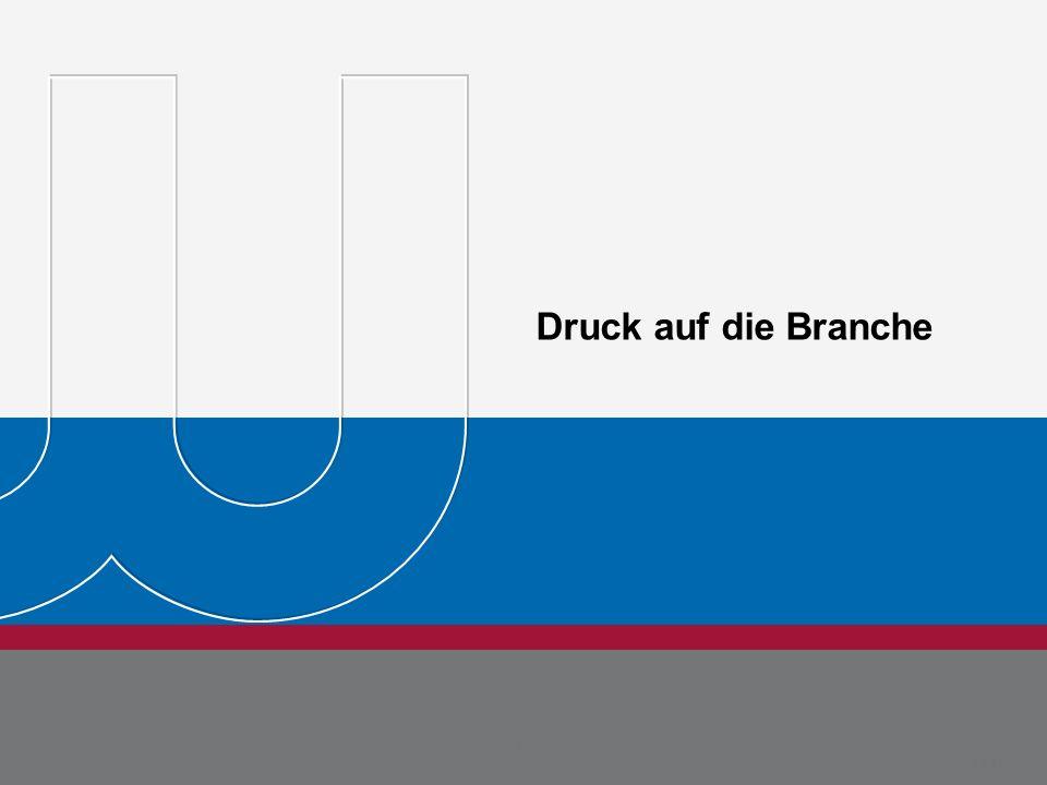 Druck auf die Branche Dr. Jörg Rehberg