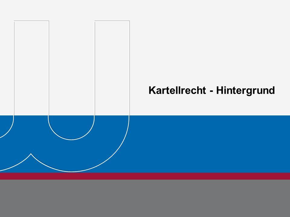 Kartellrecht - Hintergrund