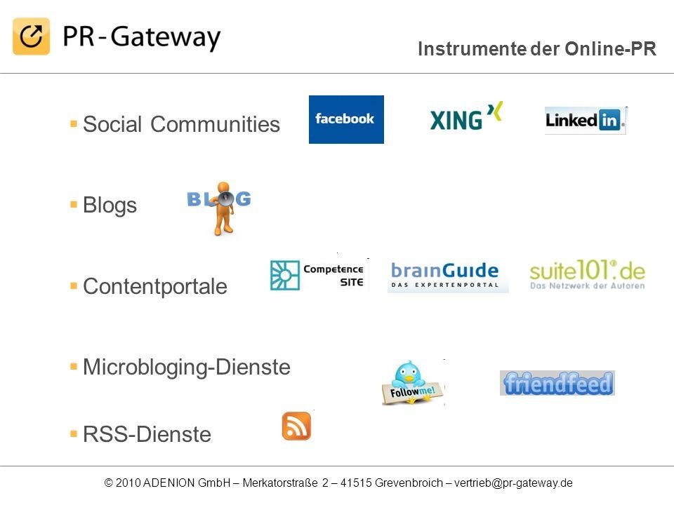 Microbloging-Dienste