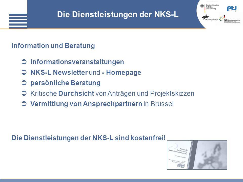 Die Dienstleistungen der NKS-L