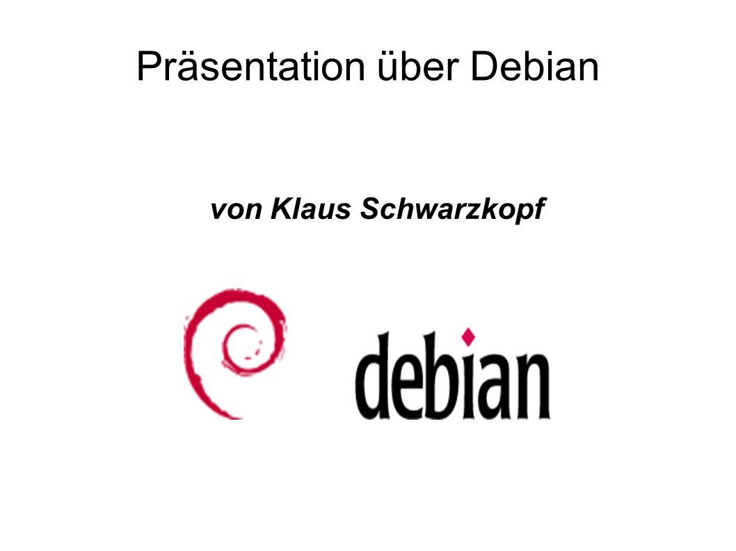 Präsentation über Debian