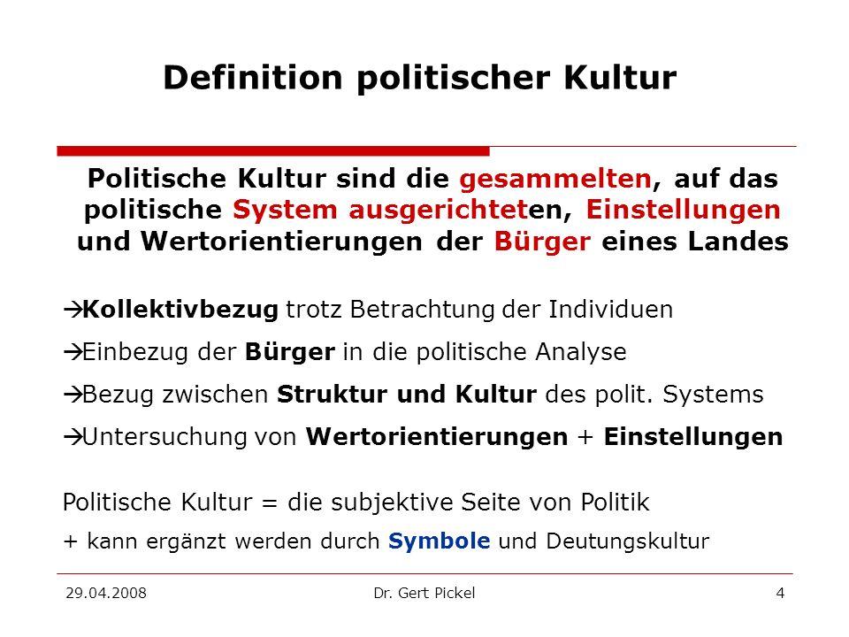 Definition politischer Kultur