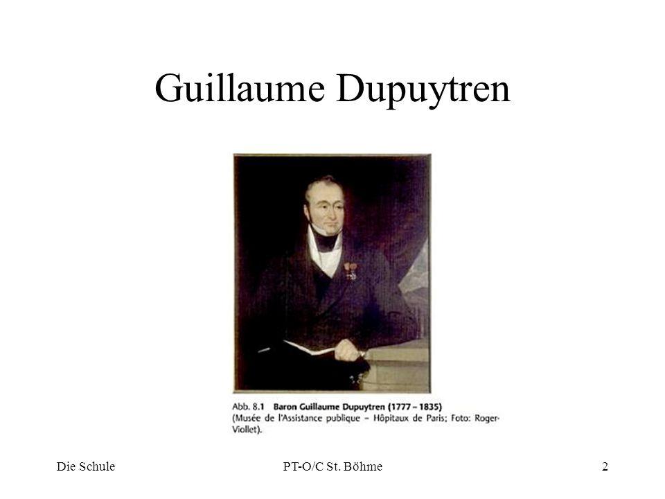 Guillaume Dupuytren Die Schule PT-O/C St. Böhme