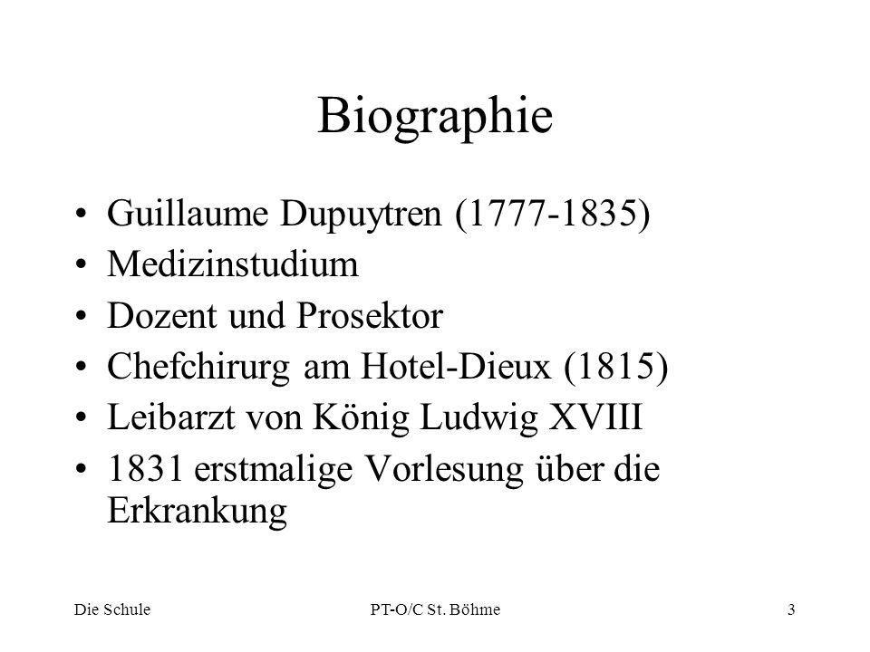 Biographie Guillaume Dupuytren (1777-1835) Medizinstudium