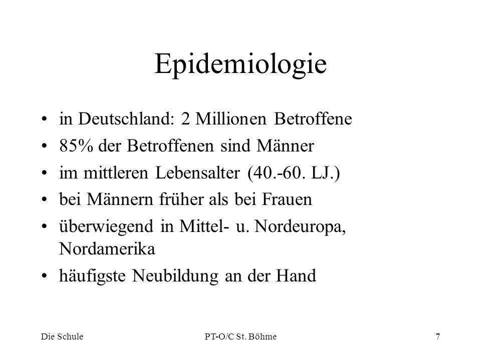 Epidemiologie in Deutschland: 2 Millionen Betroffene