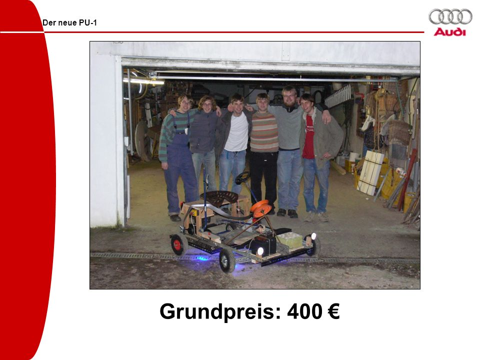 Der neue PU-1 Grundpreis: 400 €