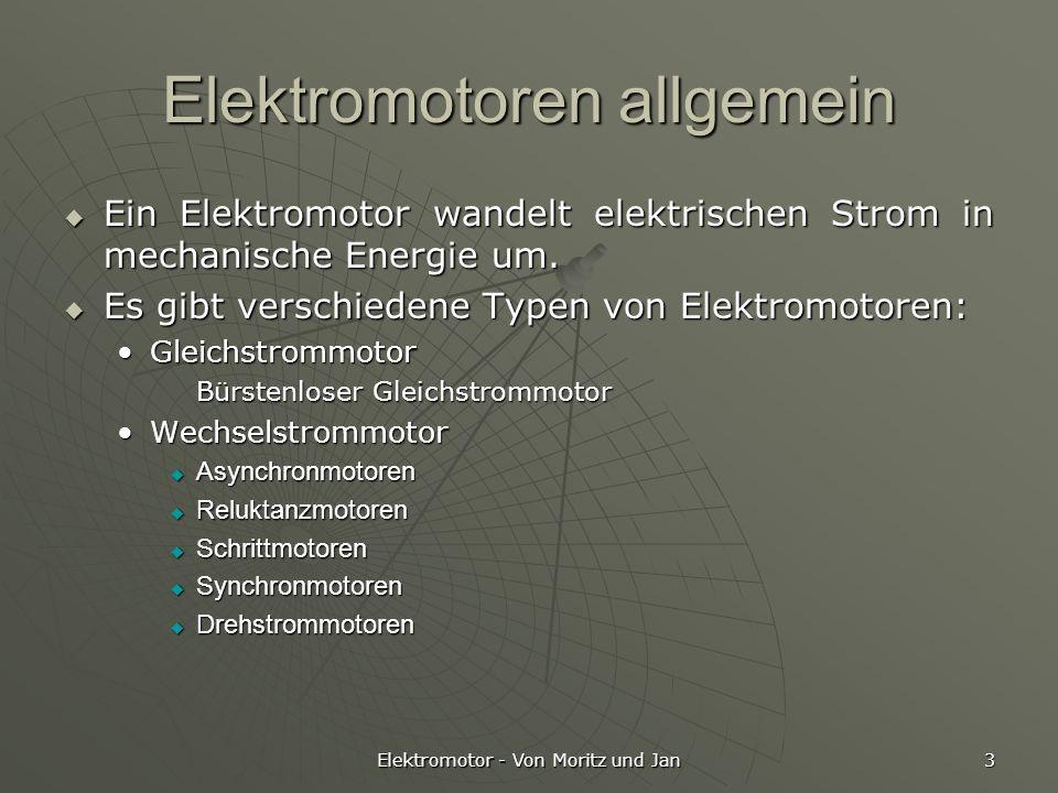 Elektromotoren allgemein