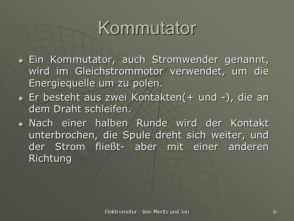 Elektromotor - Von Moritz und Jan