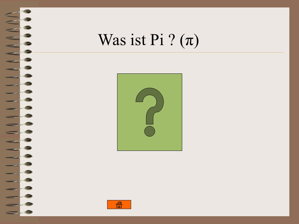 Was ist Pi (π)