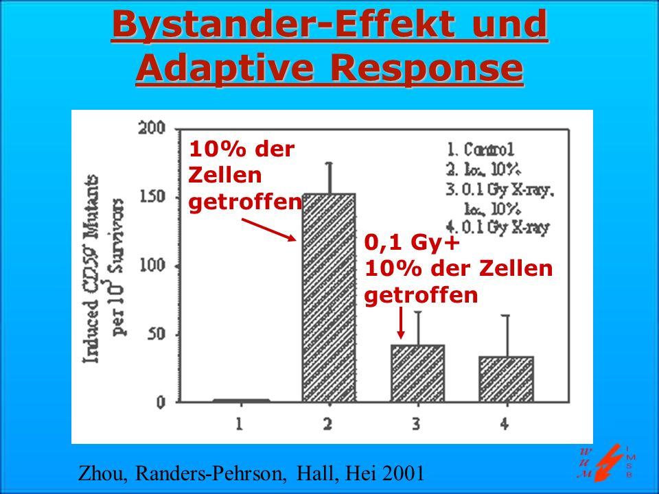 Bystander-Effekt und Adaptive Response