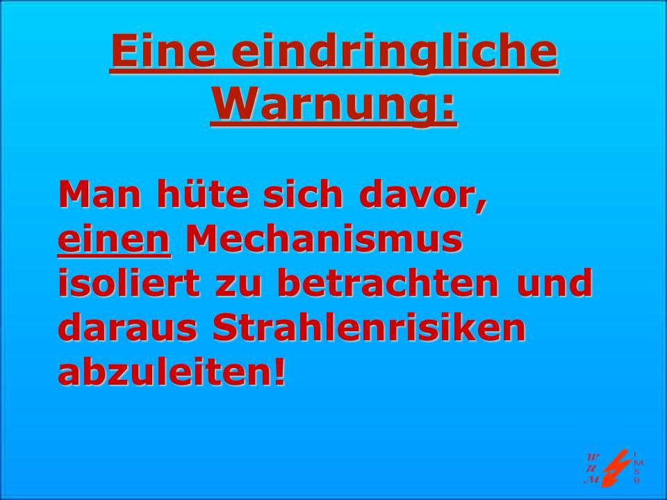 Eine eindringliche Warnung: