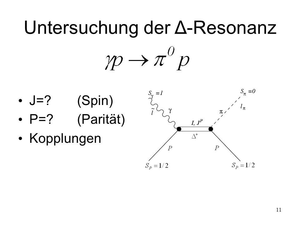 Untersuchung der Δ-Resonanz