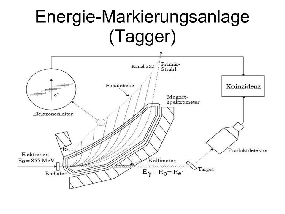 Energie-Markierungsanlage (Tagger)