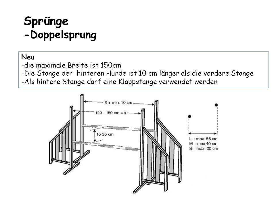 Sprünge -Doppelsprung