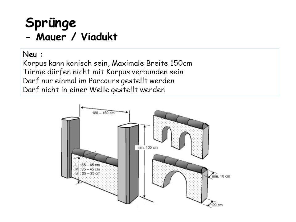 Sprünge - Mauer / Viadukt