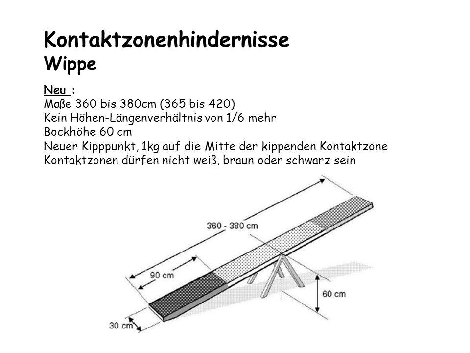 Kontaktzonenhindernisse Wippe
