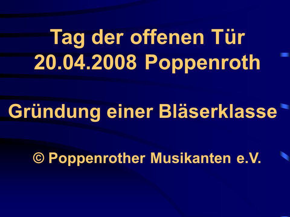© Poppenrother Musikanten e.V.