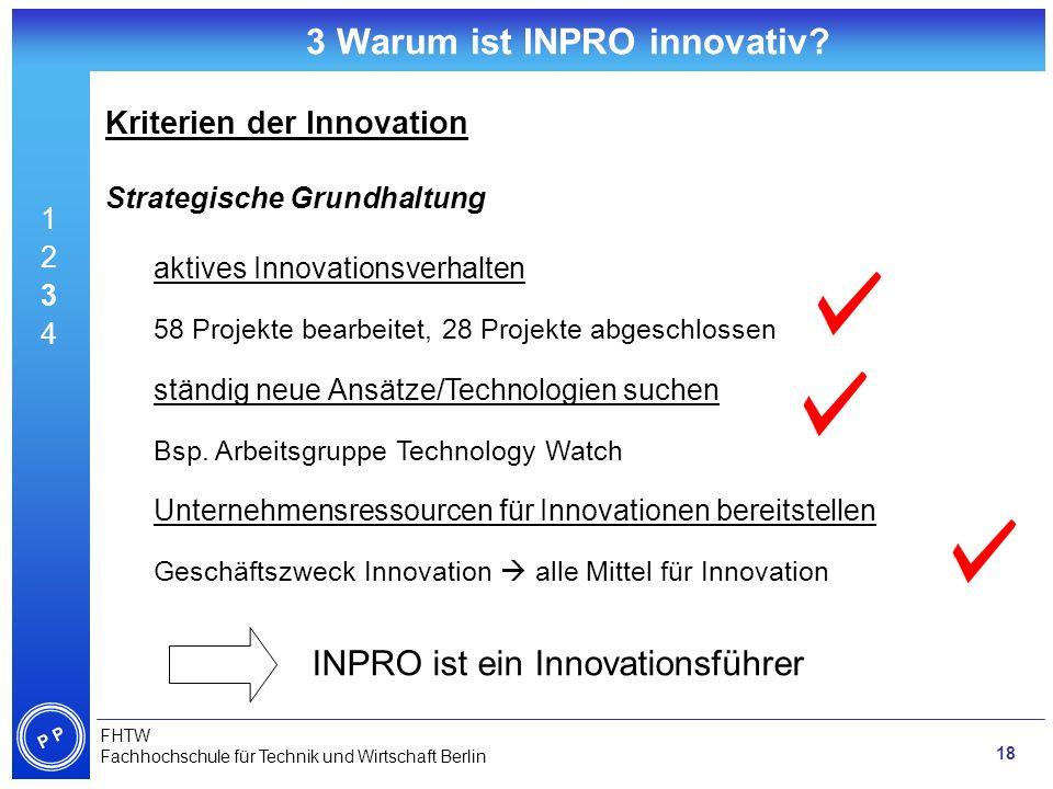 3 Warum ist INPRO innovativ