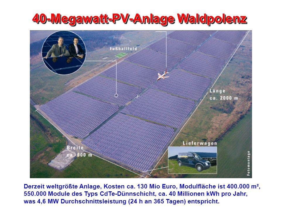 40-Megawatt-PV-Anlage Waldpolenz