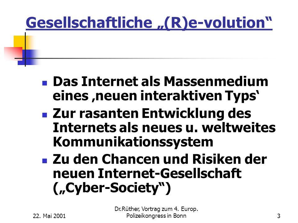 """Gesellschaftliche """"(R)e-volution"""