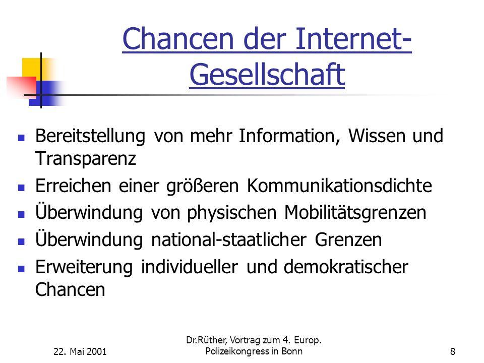 Chancen der Internet-Gesellschaft