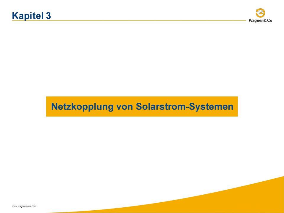 Kapitel 3 www.wagner-solar.com