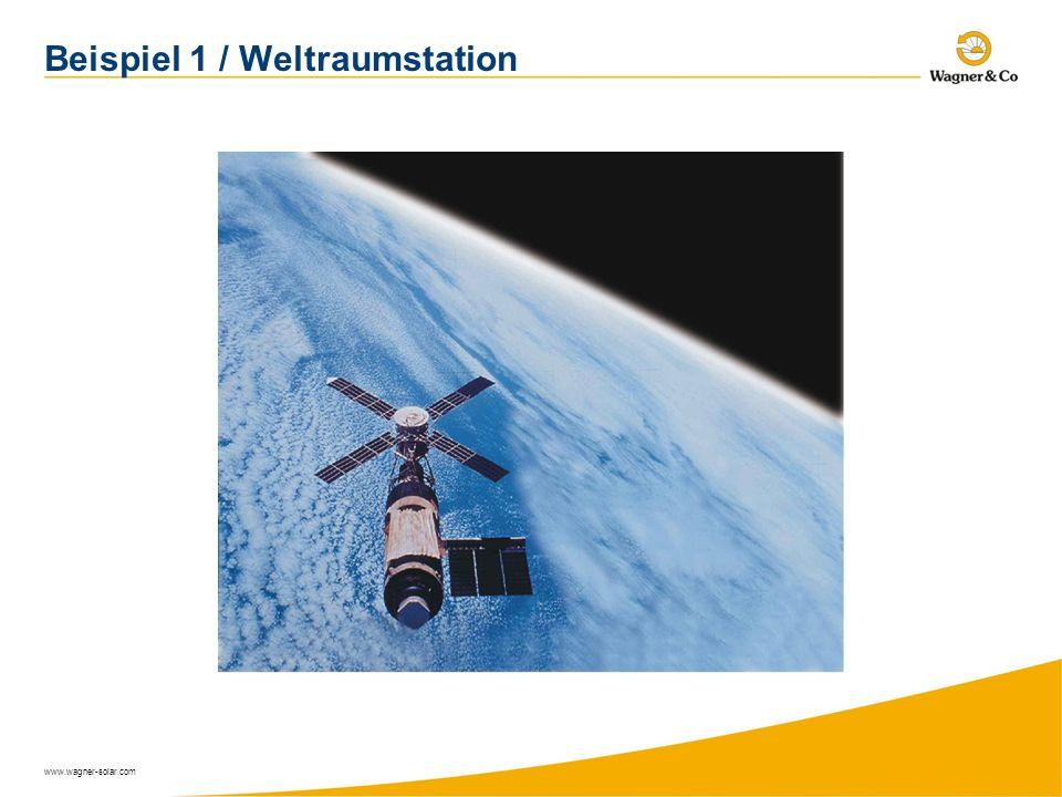 Beispiel 1 / Weltraumstation