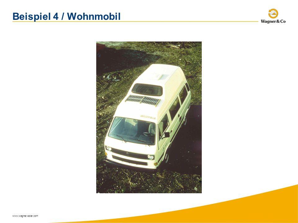 Beispiel 4 / Wohnmobil www.wagner-solar.com