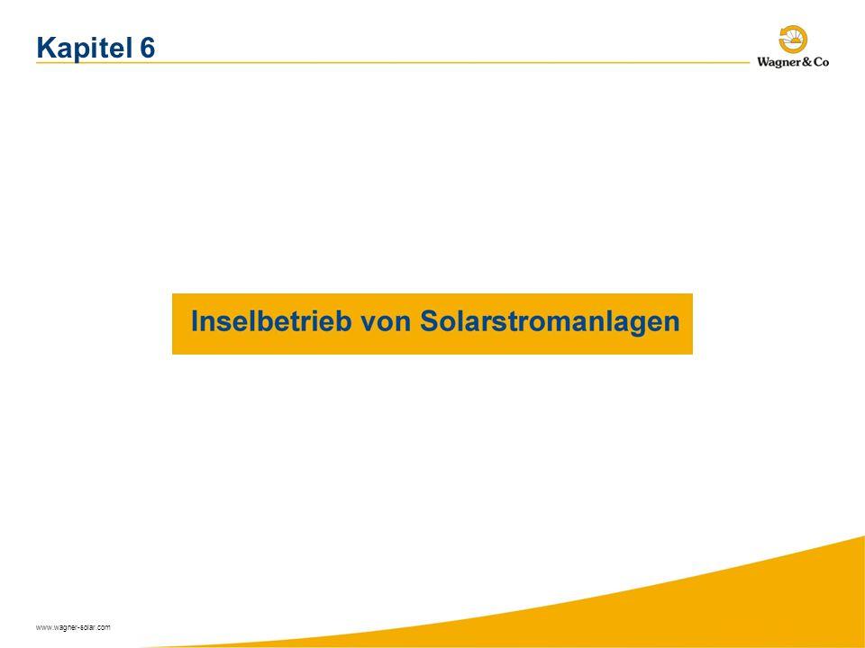 Kapitel 6 www.wagner-solar.com