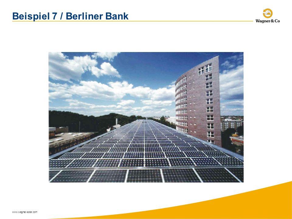Beispiel 7 / Berliner Bank