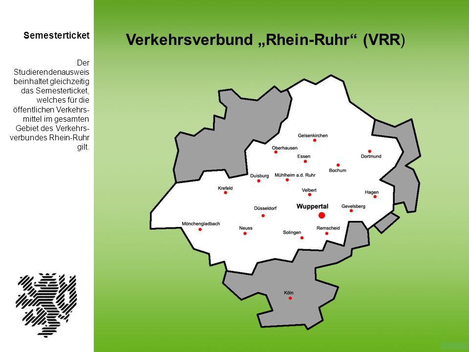 "Verkehrsverbund ""Rhein-Ruhr (VRR)"