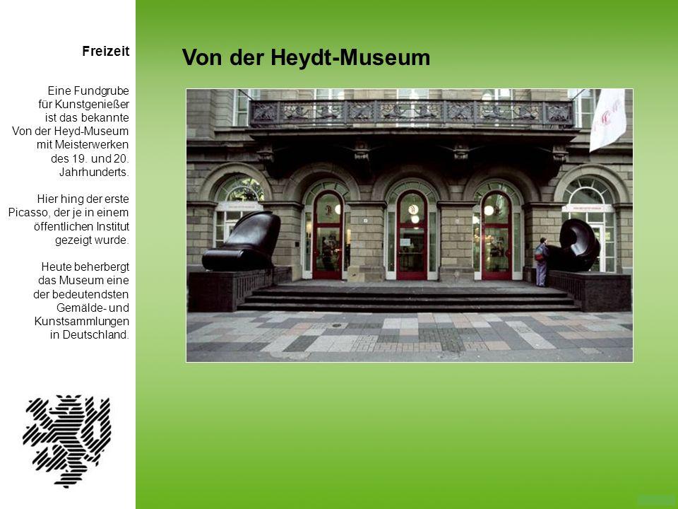 Von der Heydt-Museum Freizeit Eine Fundgrube für Kunstgenießer