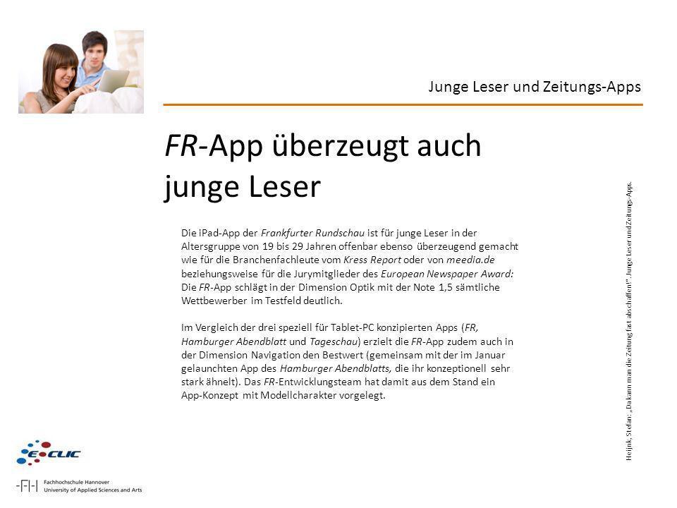 FR-App überzeugt auch junge Leser