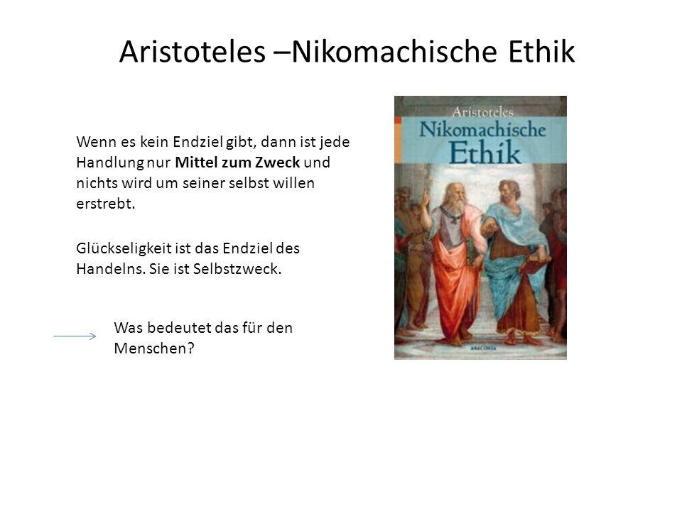 Aristoteles –Nikomachische Ethik