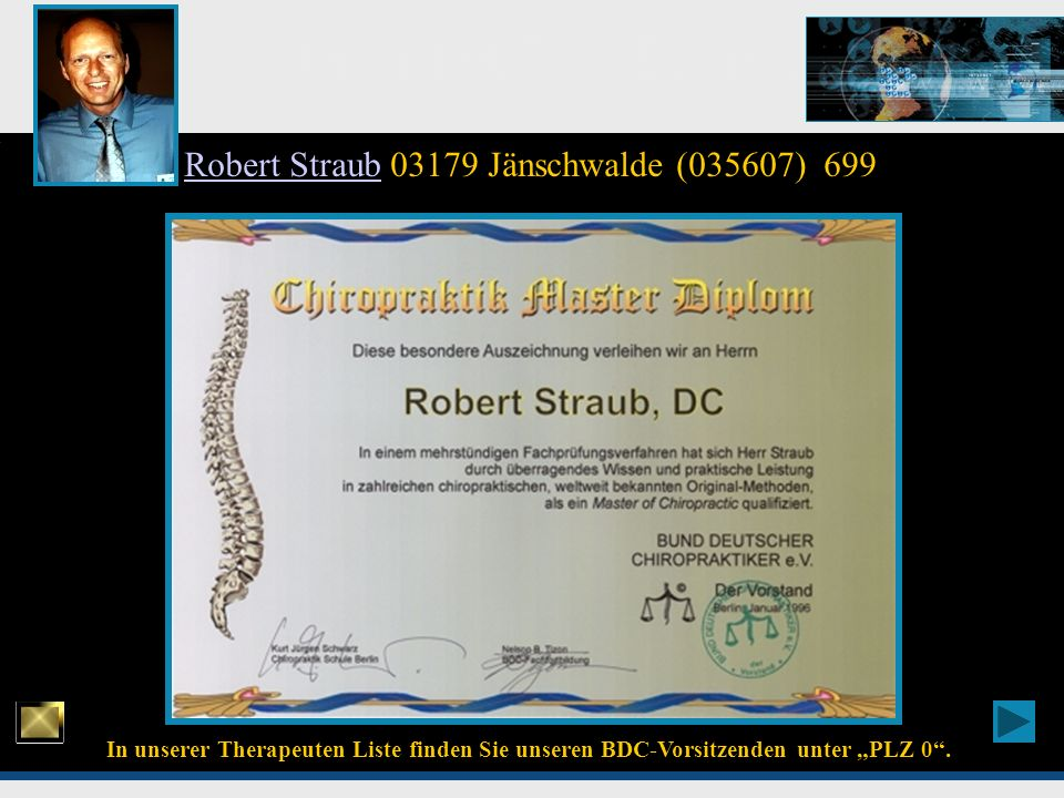 Robert Straub 03179 Jänschwalde (035607) 699