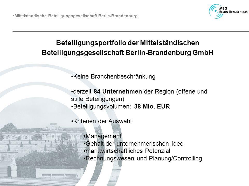 Mittelständische Beteiligungsgesellschaft Berlin-Brandenburg