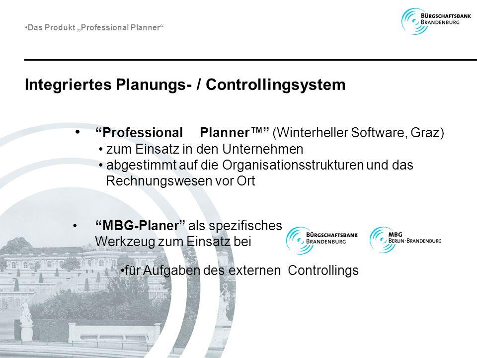 Integriertes Planungs- / Controllingsystem