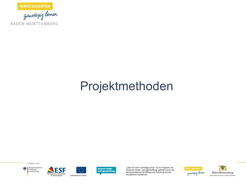 Projektmethoden